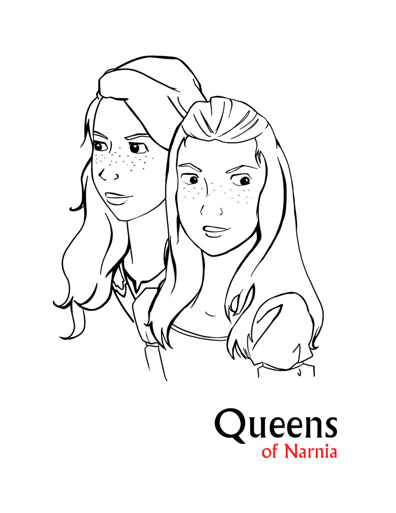 791x1024 Narnia Coloring Pages With Glum Me