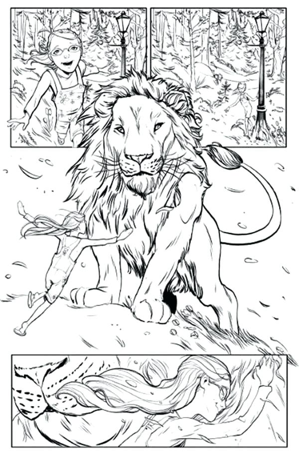 600x934 Narnia Coloring Pages