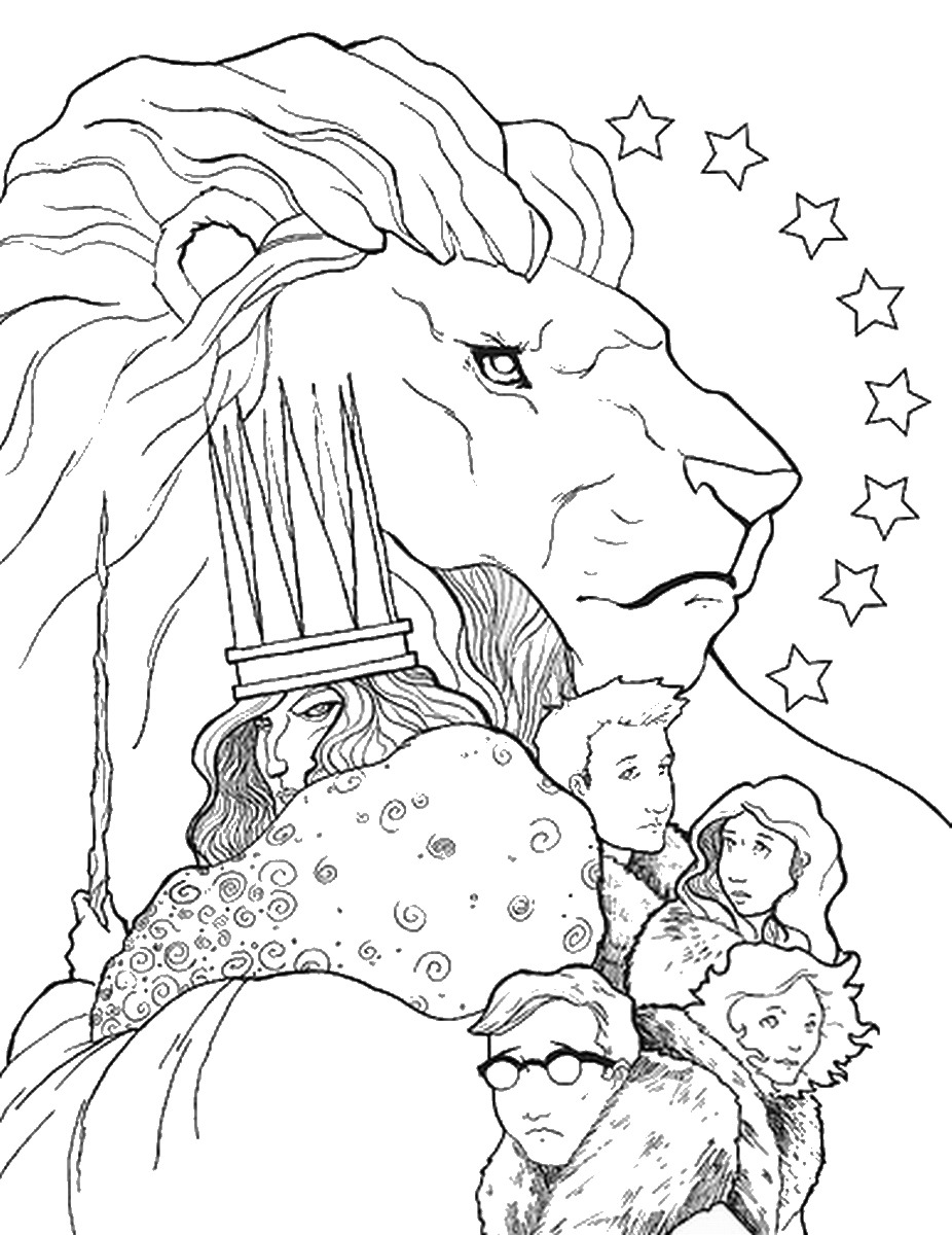 926x1200 The Chronicles Of Narnia Coloring Pages