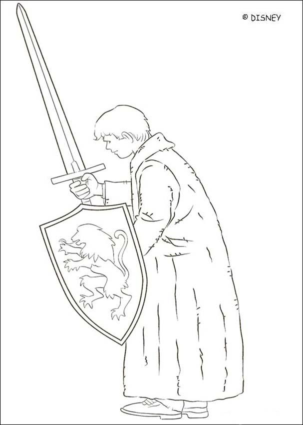 607x850 The Lion Aslan Coloring Pages
