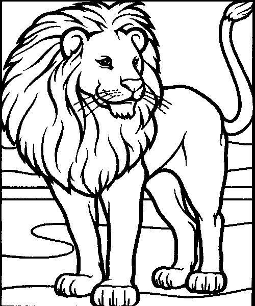 Aslan Coloring Pages At Getdrawings Free Download