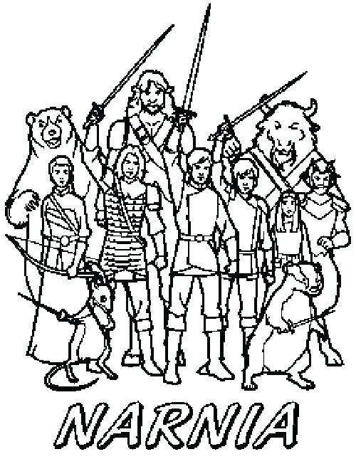 500x645 Narnia Coloring Pages Narnia Coloring Pages Old Fashioned Coloring