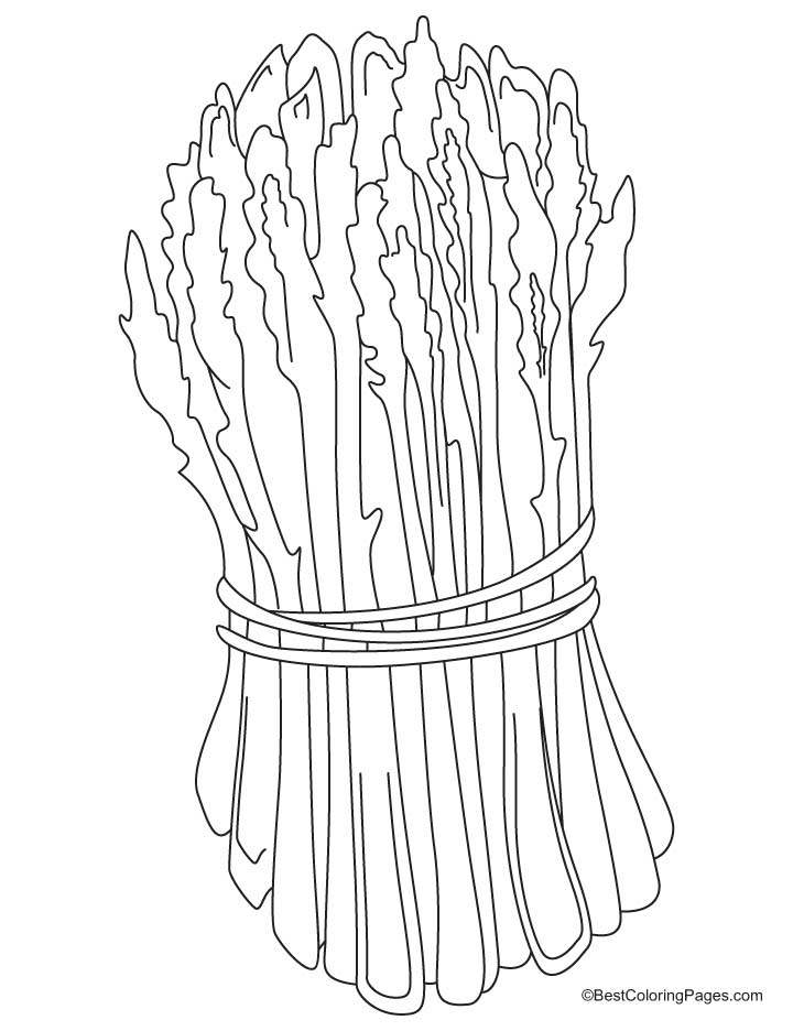720x936 Green Asparagus Coloring Pages Download Free Green Asparagus