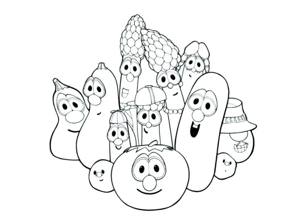 960x720 Veggie Tales Coloring Pages Free Veggie Tales Coloring Pages Free