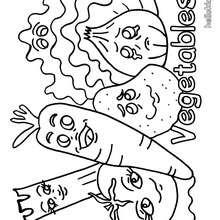 220x220 Asparagus Coloring Pages