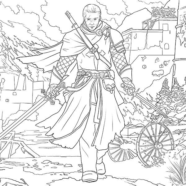 Assassin 39 S Creed Official Coloring Free Photos