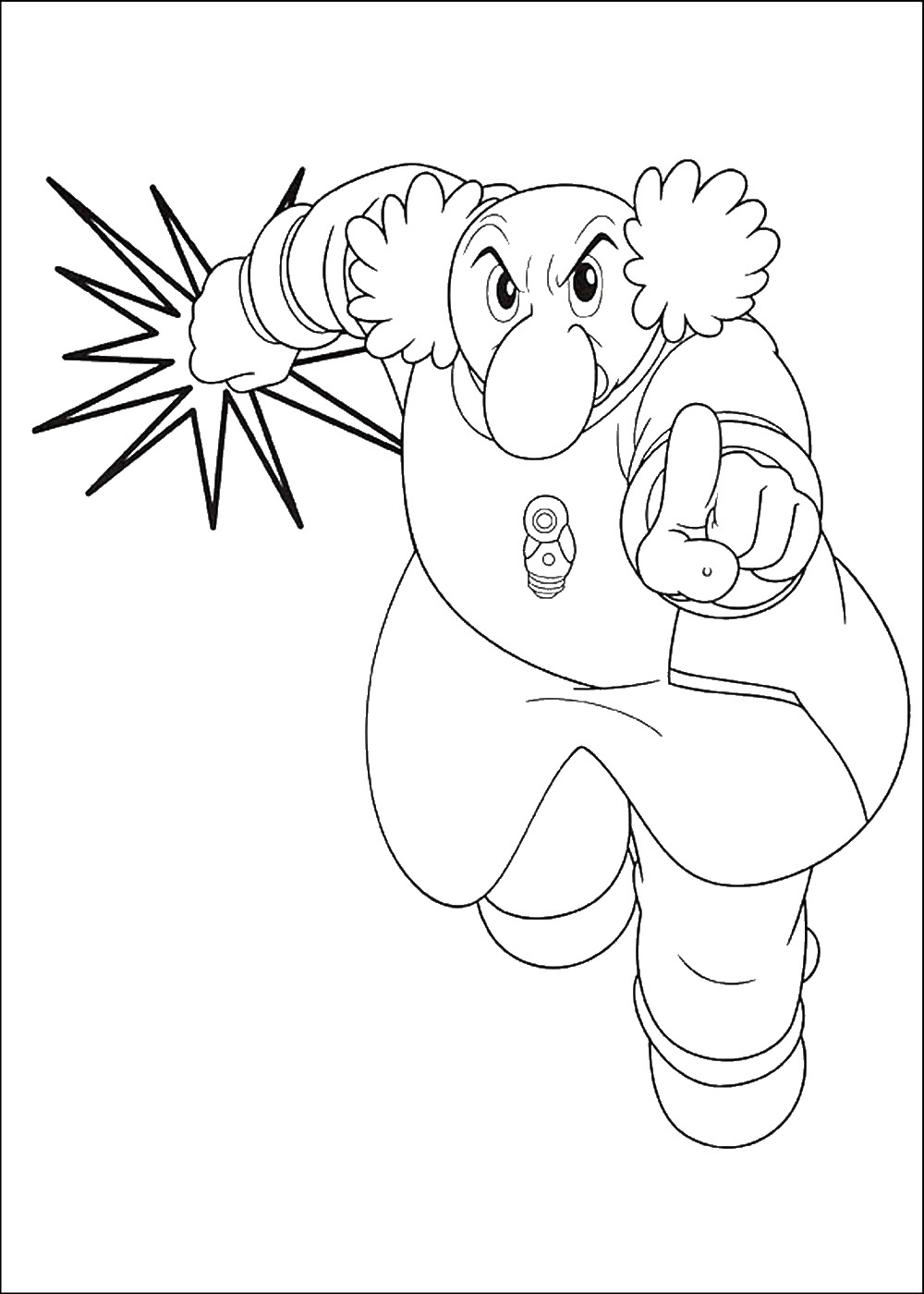 1000x1400 Astro Boy Coloring Pages