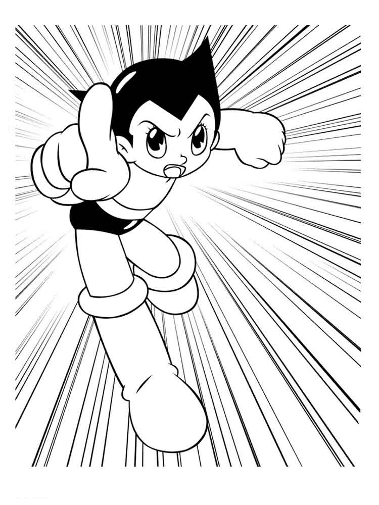 750x1000 Astro Boy Coloring Pages Download And Print Astro Boy Coloring Pages