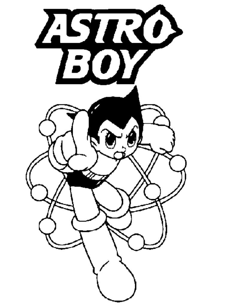 Astro Boy Coloring Pages At GetDrawings