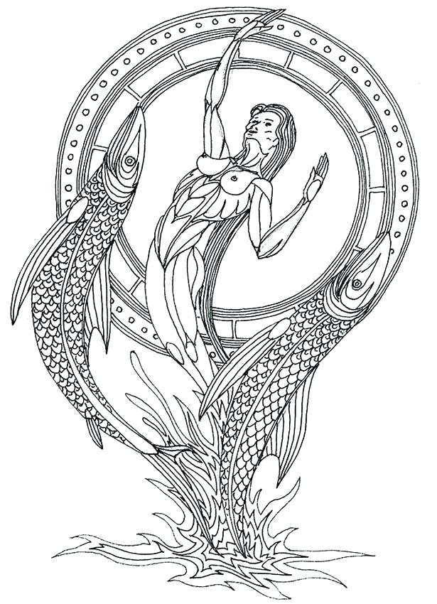 615x850 Zodiac Coloring Pages Zodiac Coloring Pages Zodiac Coloring Pages
