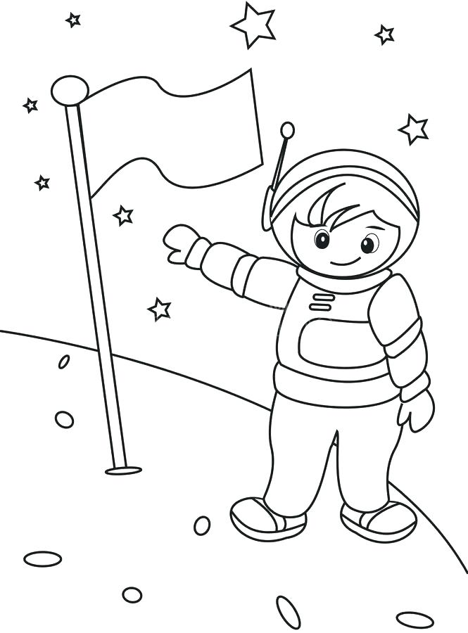 665x900 Astronaut Coloring Pages Spaceship Astronaut Coloring Pages