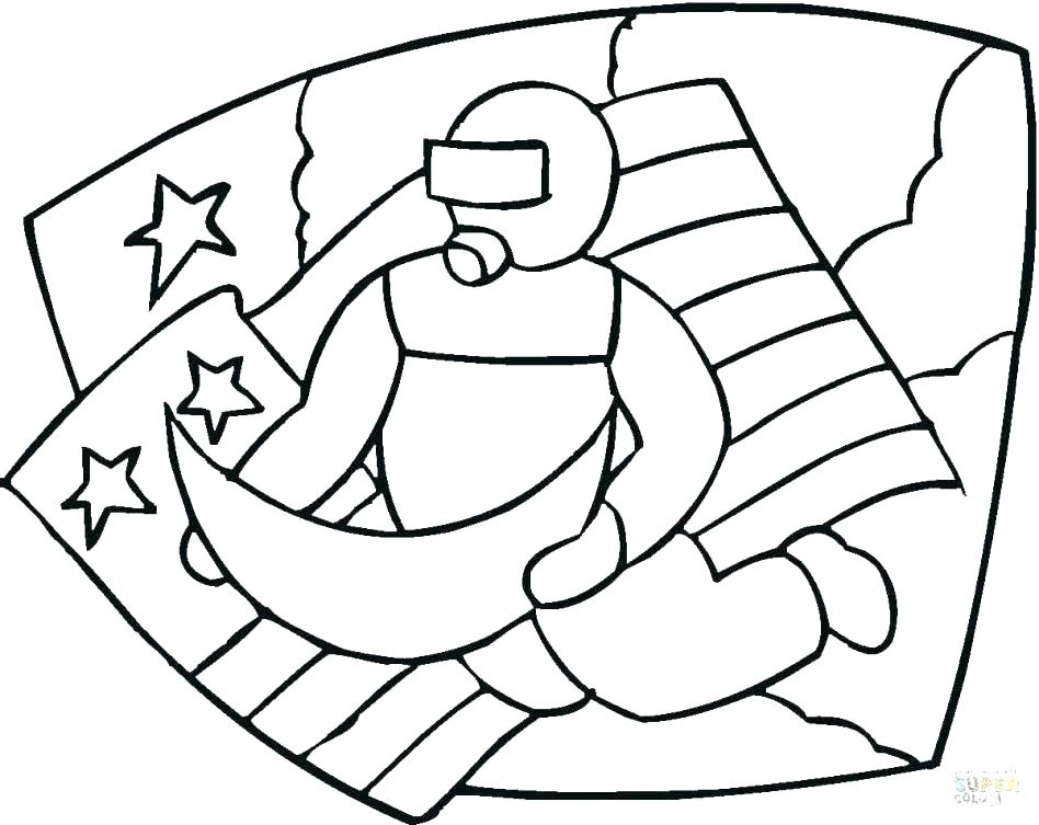 948x753 Astronaut Coloring Pages Amazing Astronaut Coloring Pages