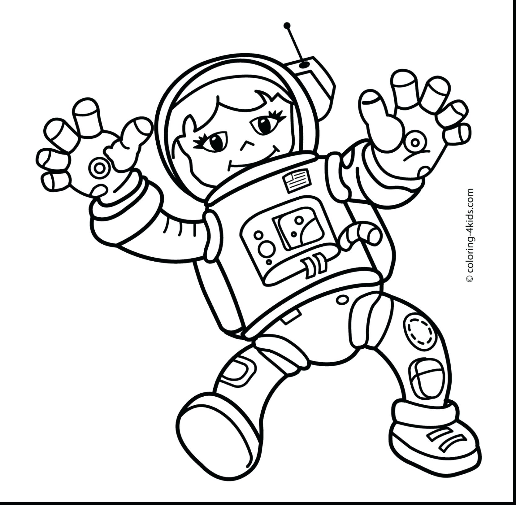 1667x1631 Coloring Pages Astronaut Coloring Pages Cartoon Astronaut