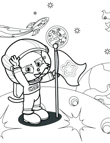 386x500 Astronaut Coloring Pages Astronaut Coloring Page Cover A Astronaut