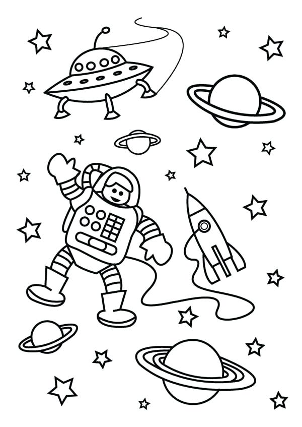 600x847 Astronaut Coloring Pages Astronaut Coloring Pages To Print