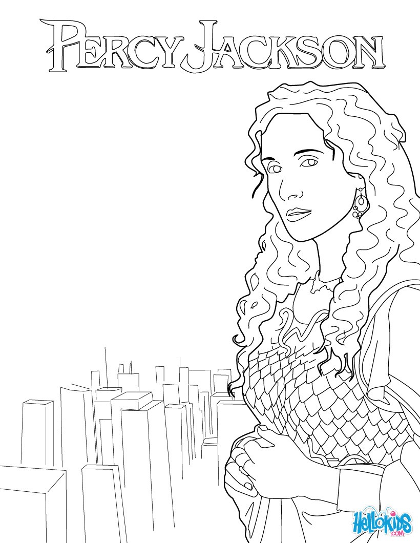 820x1060 Athena Coloring Pages