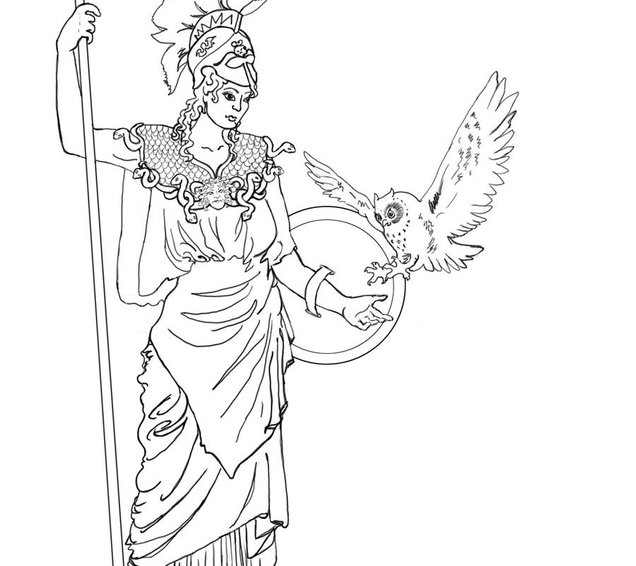 900x800 Colorful Aphrodite Coloring Pages Adornment