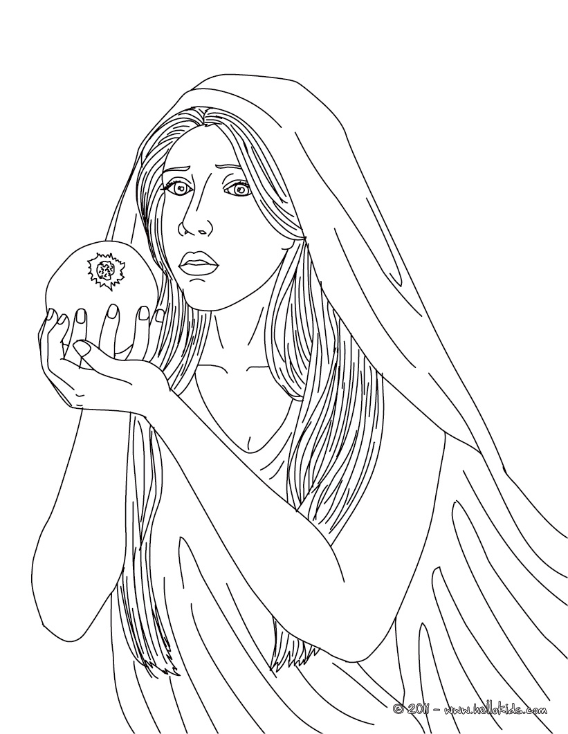 821x1061 Greek Goddesses Coloring Pages