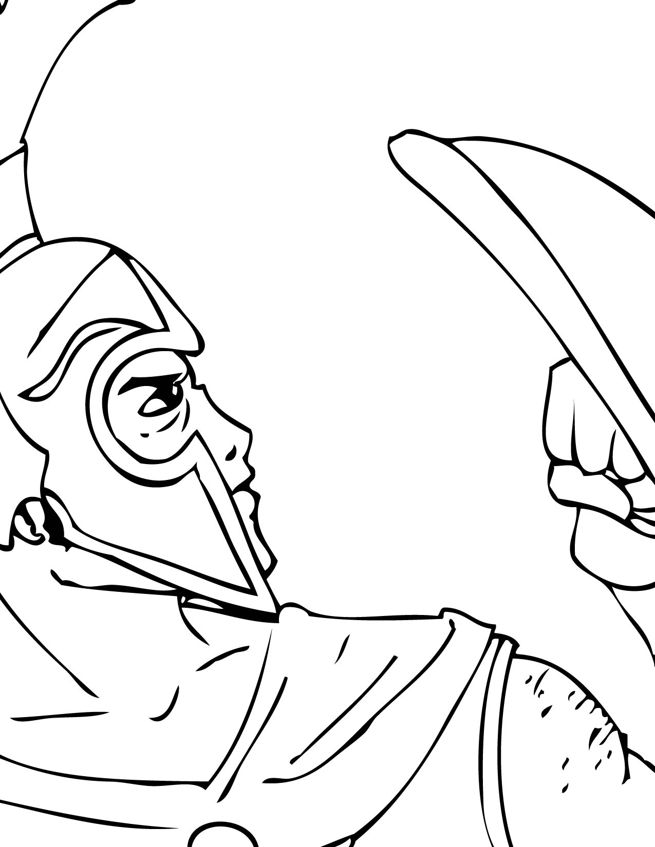 1275x1650 Ares Coloring Pages