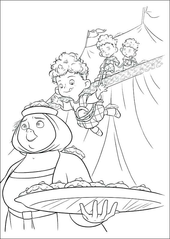 567x794 Coloring Pages Brave Brave Free Printable Brave Coloring Pages