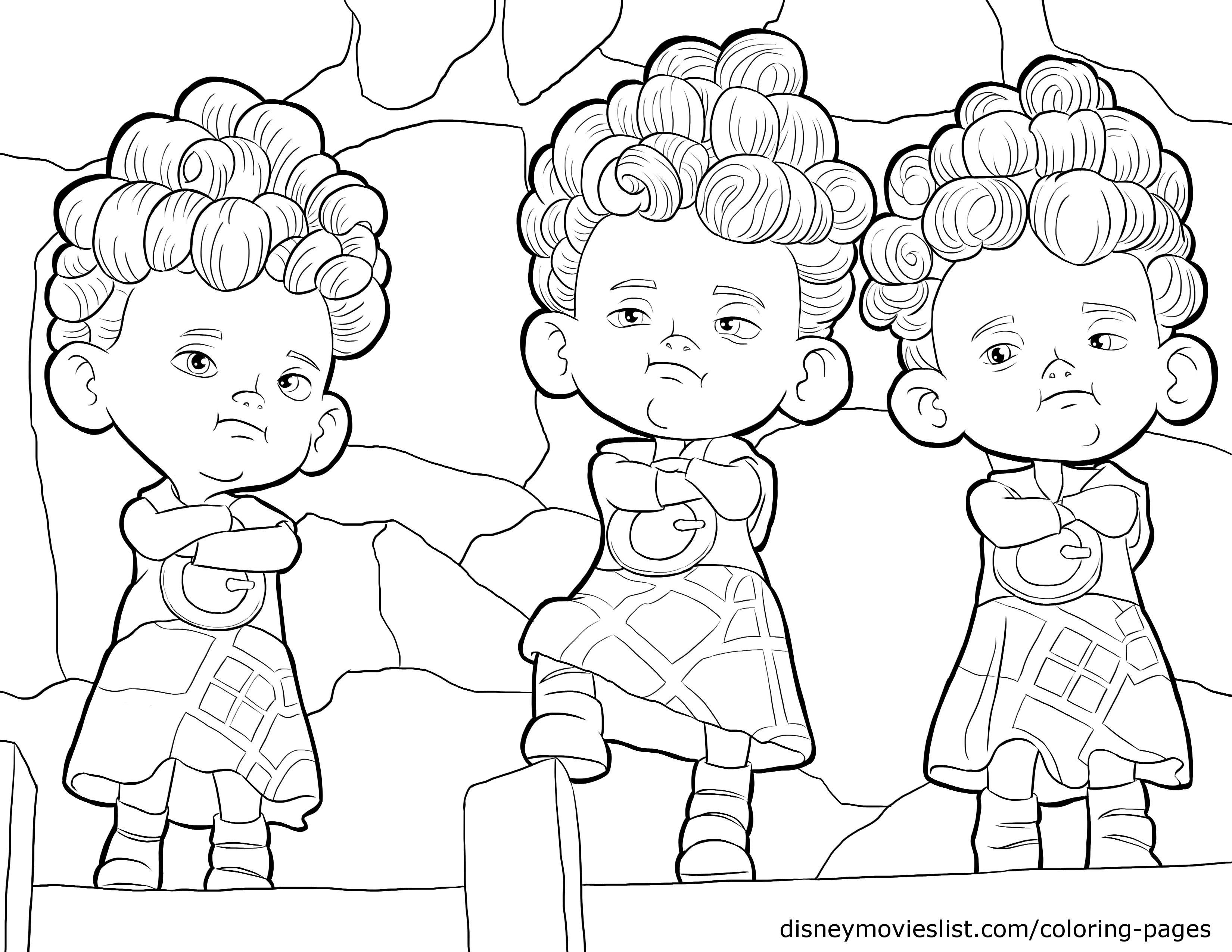 3300x2550 Disney Brave Coloring Book Pictures