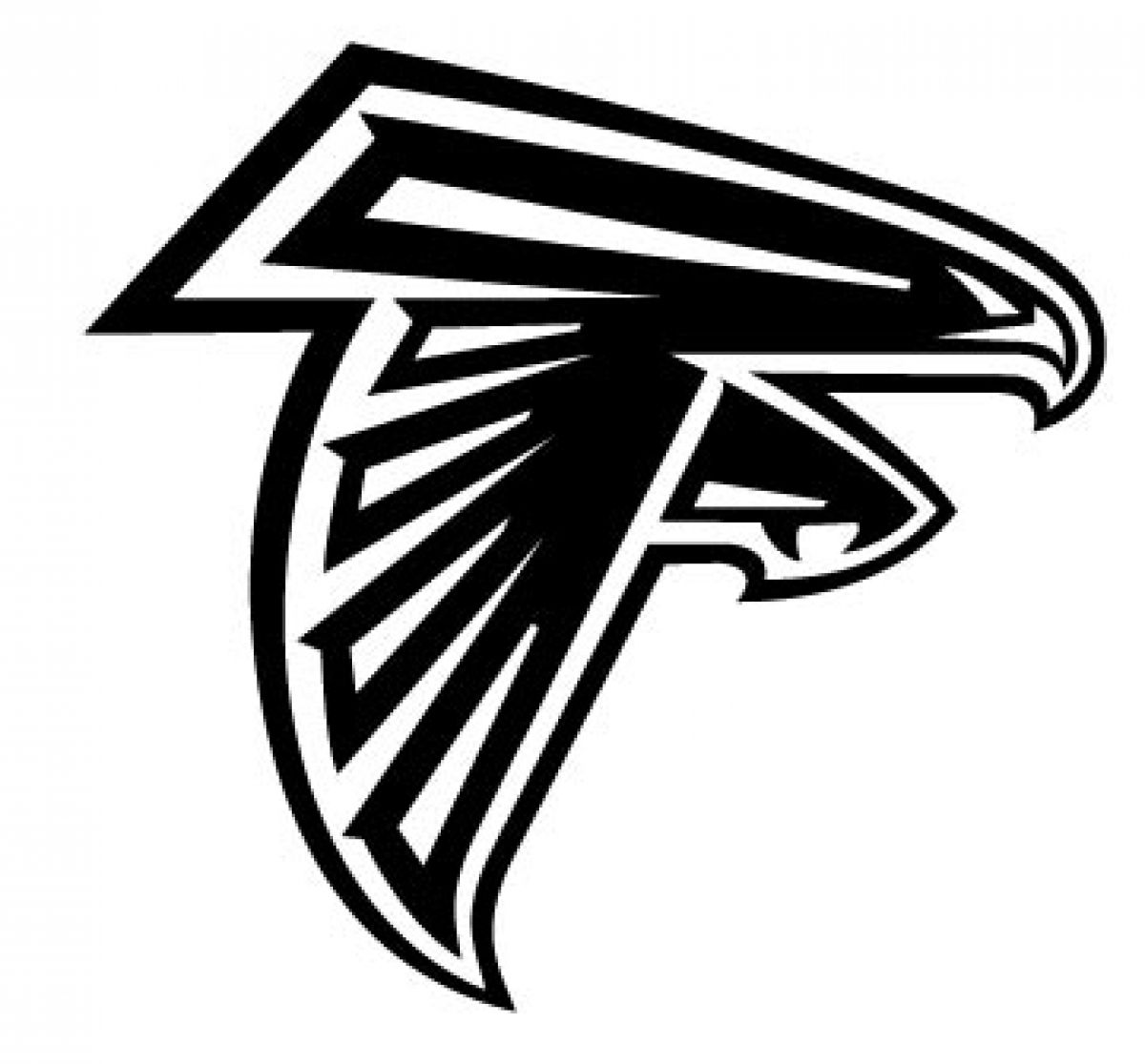 1200x1116 Falcons Logo Atlanta Falcons Logo Atlanta Braves Logo Atlanta