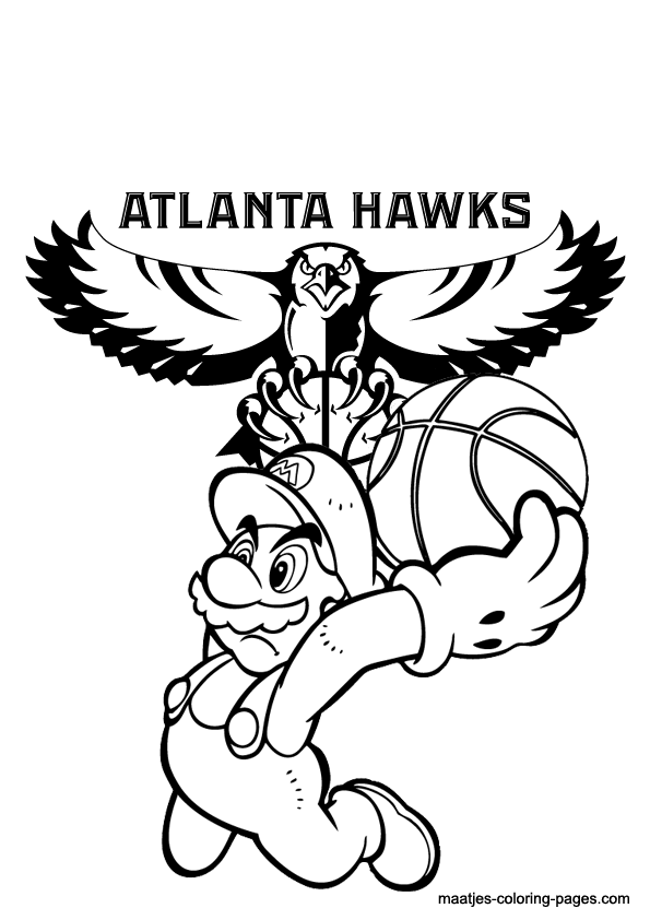 595x842 Atlanta Coloring Pages Atlanta Braves Logo Coloring Pages Kids