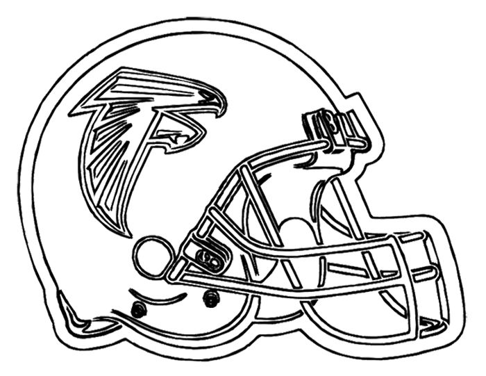 700x541 Football Helmet Atlanta Falcons Coloring Page Kids Coloring