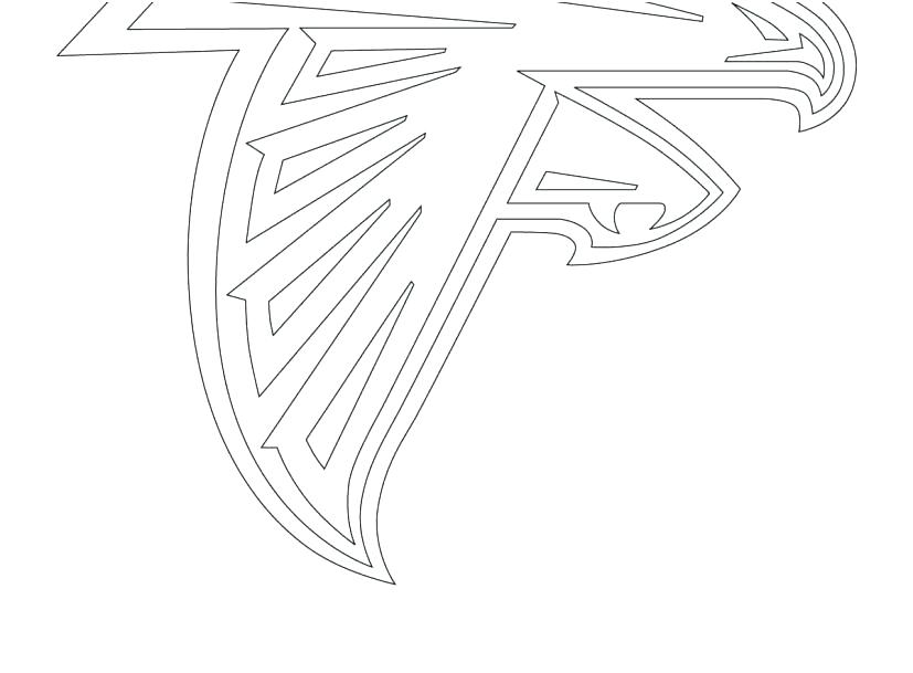 827x609 Atlanta Falcons Coloring Pages