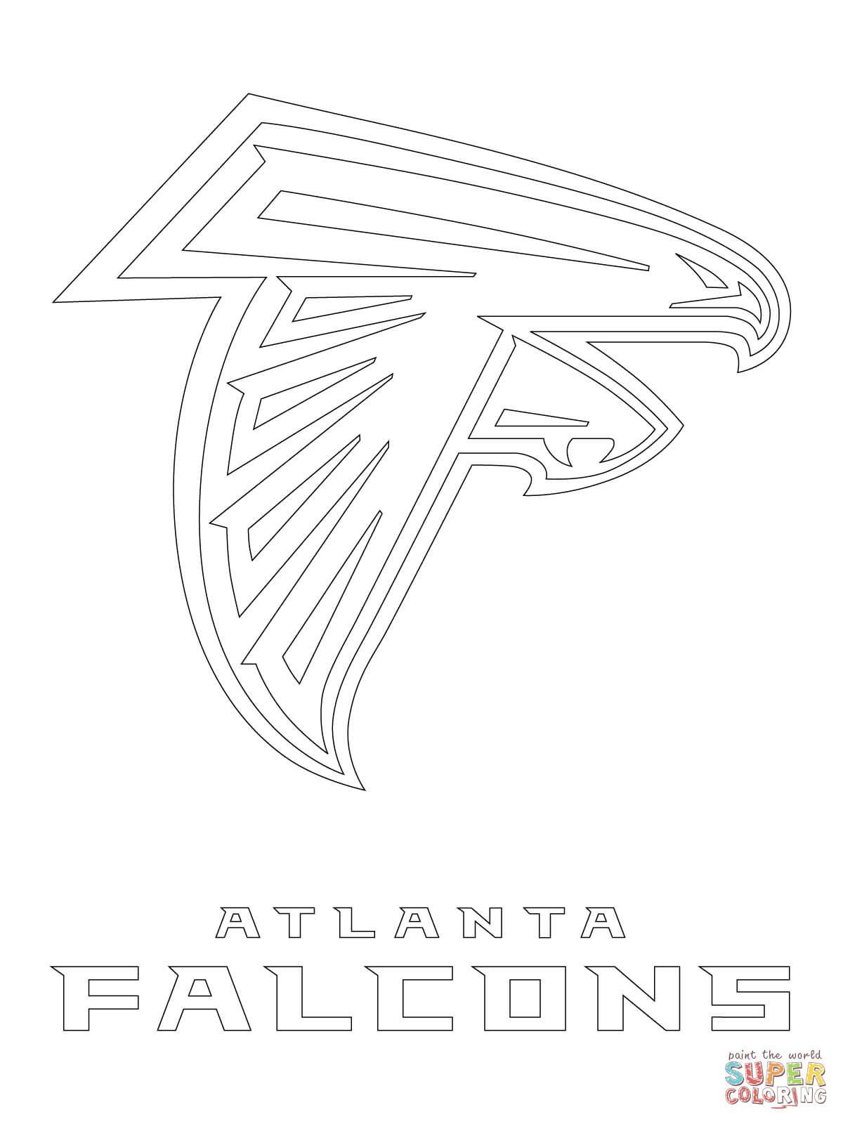 1200x1600 Click The Atlanta Falcons Logo Coloring Pages To View Printable