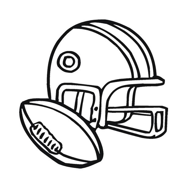 600x630 Football Helmet Atlanta Falcons Coloring Page For Kids