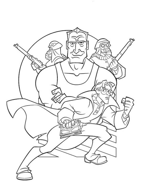 600x776 Picture Of Atlantis The Lost Empire Coloring Pages Batch Coloring