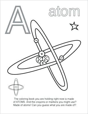 309x400 Coloring Pages Chemistry Coloring Book
