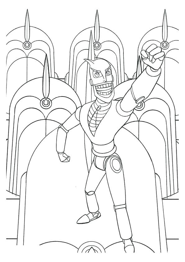 595x842 Real Steel Coloring Pages Real Steel Coloring Pages Atom