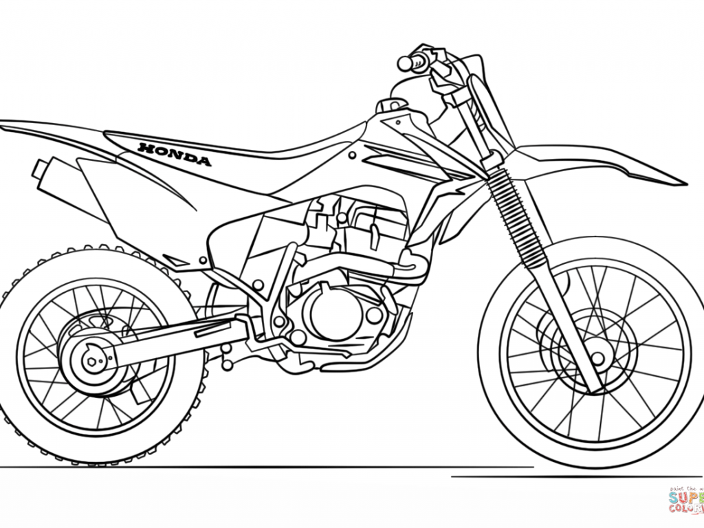 1024x768 Coloring Pages Quad Bike For Adults Free To Color And Print High