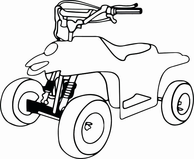618x506 Four Wheeler Coloring Pages Collection Wheeler Coloring Pages