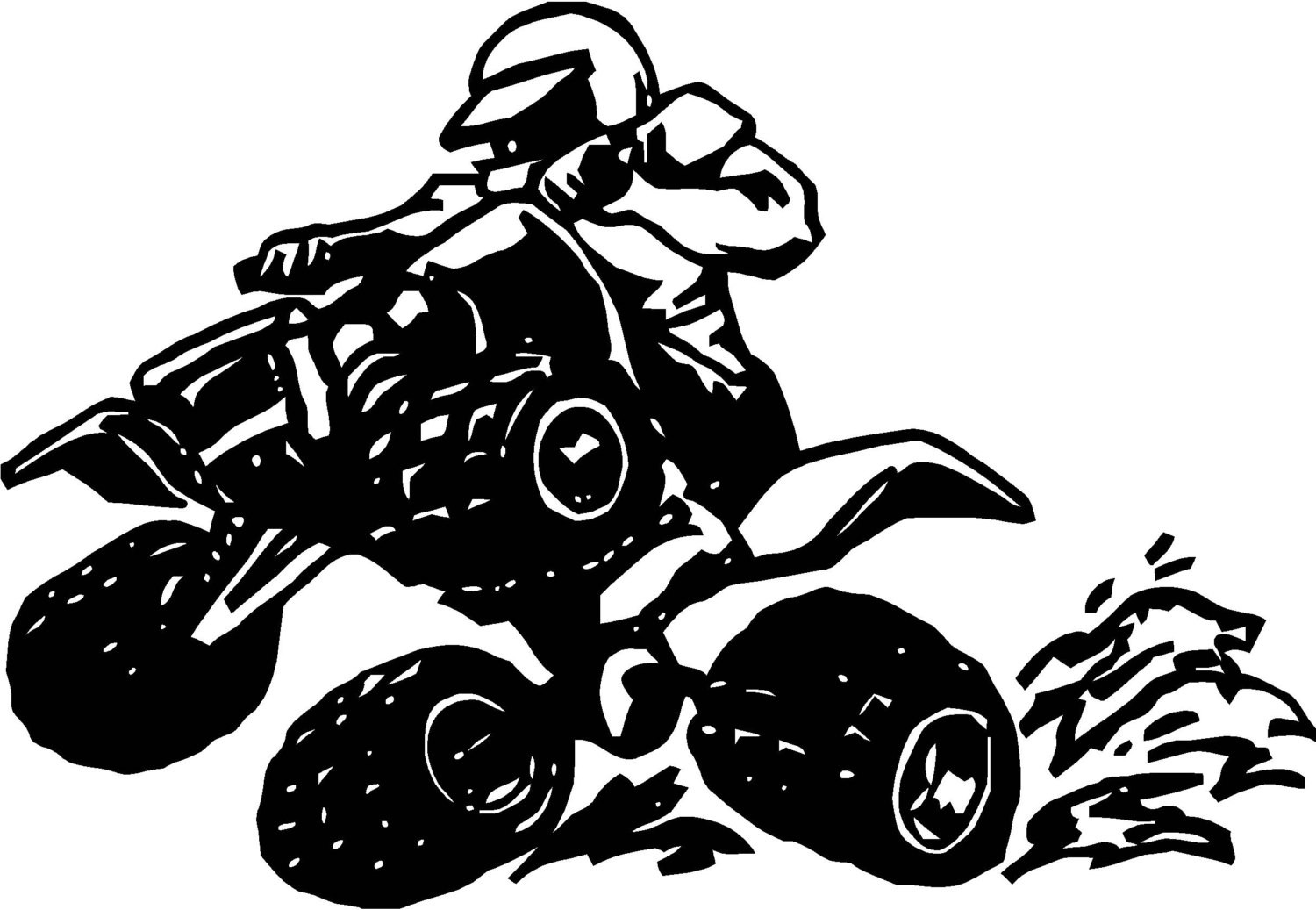 1500x1037 Wheeler Clip Art Coloring Pages At Four