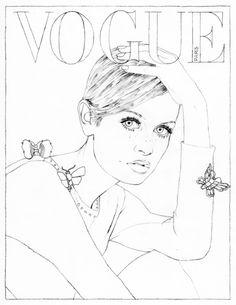 236x305 Coloriage Audrey Hepburn Audrey Hepburn, Adult Coloring