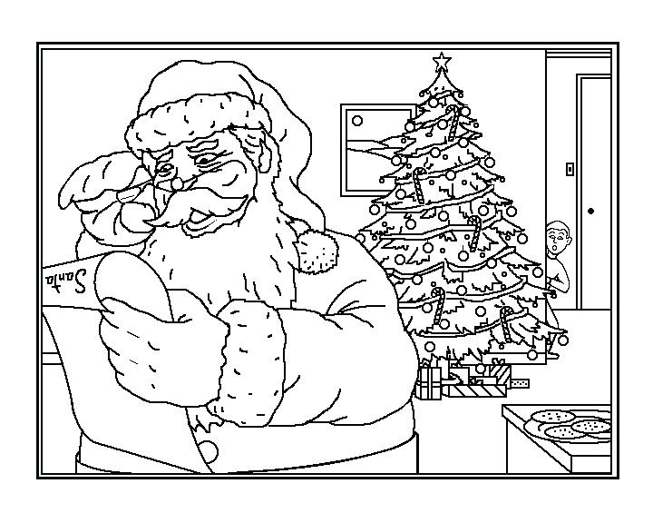 720x576 Eatons Santa Claus Parade Colouring Book New Augmented Reality