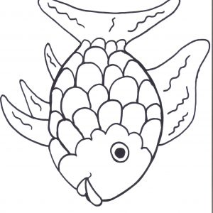 300x300 Coloring Pages Of A Rainbow Best Of Coloring Rainbow Fish Coloring