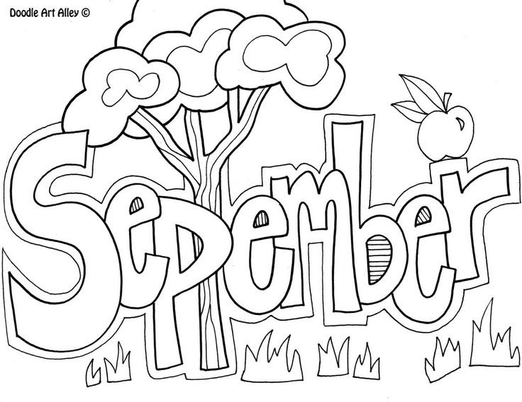 736x568 September Coloring Pages