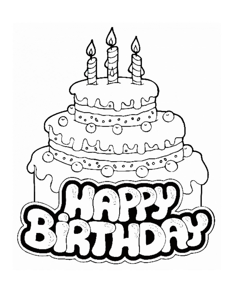 960x1241 Coloring Pages Happy Birthday For Aunt Free Image High Definition