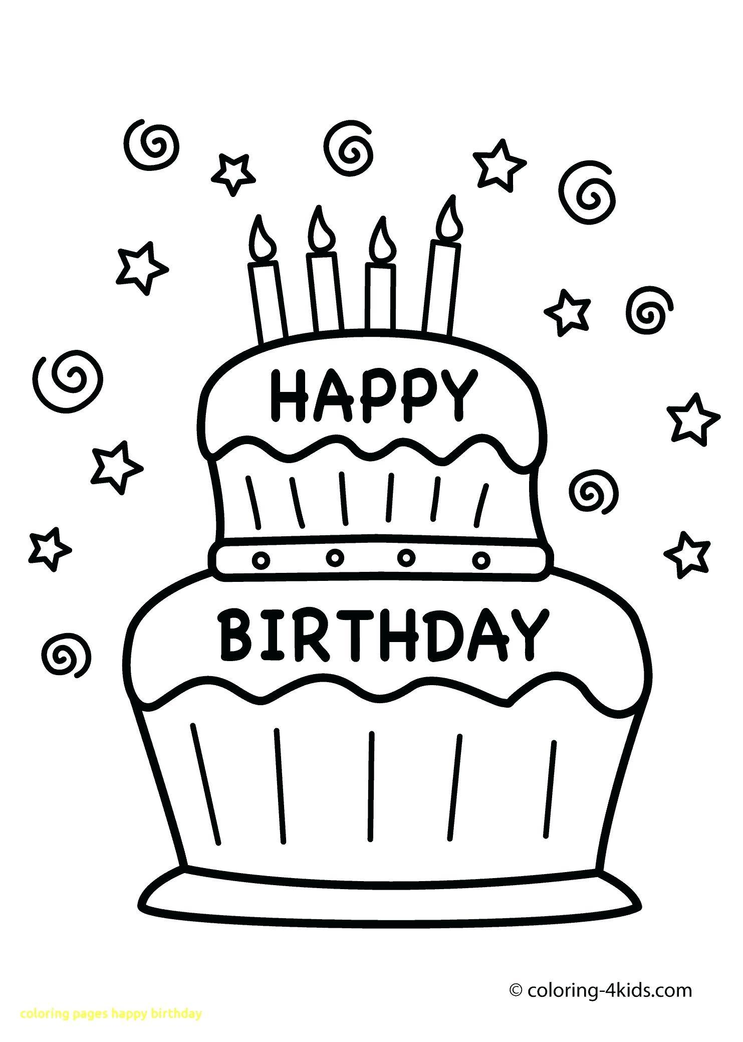 1483x2079 Fine Happy Birthday Aunt Coloring Pages Sketch
