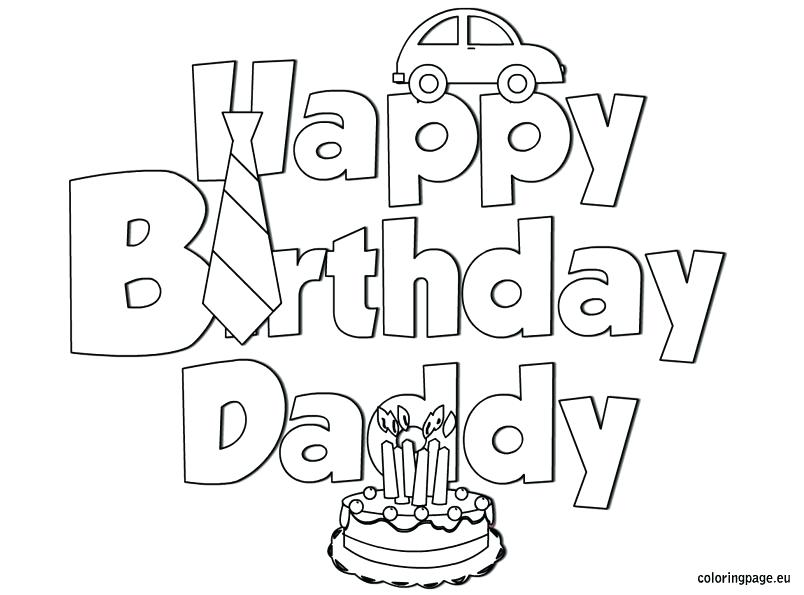 804x595 Happy Birthday Coloring Pages For Aunt Three Page Color Best