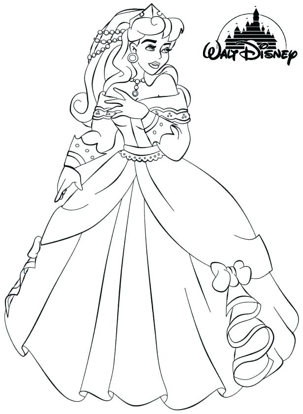 615x841 Aurora Coloring Princess And The Frog Coloring Pages Medium Size