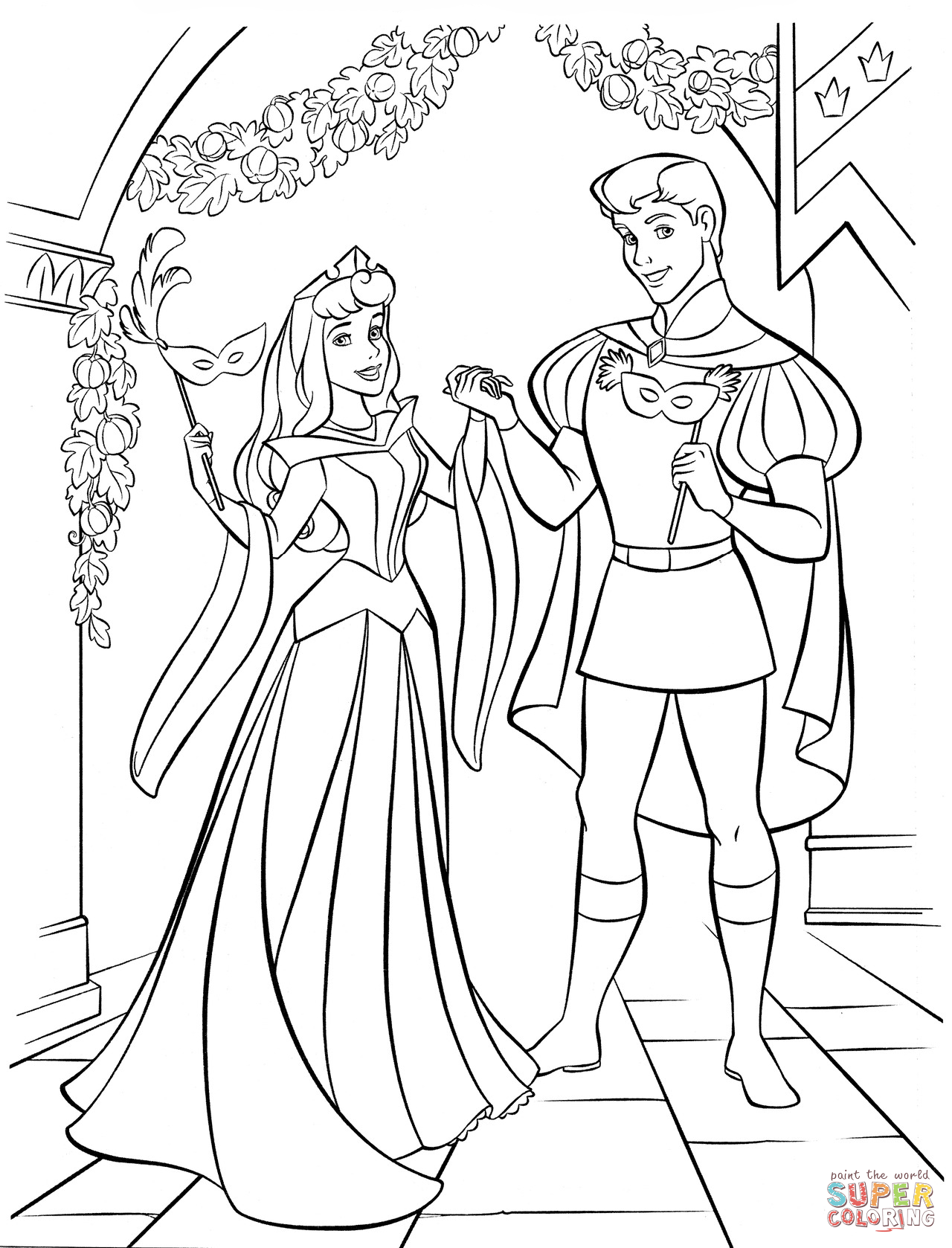 1280x1678 Princess Aurora Coloring Page Inspirations Throughout