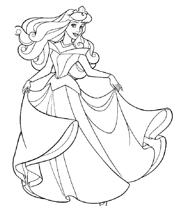 700x800 Princess Sleeping Beauty Coloring Pages Princess Aurora Coloring