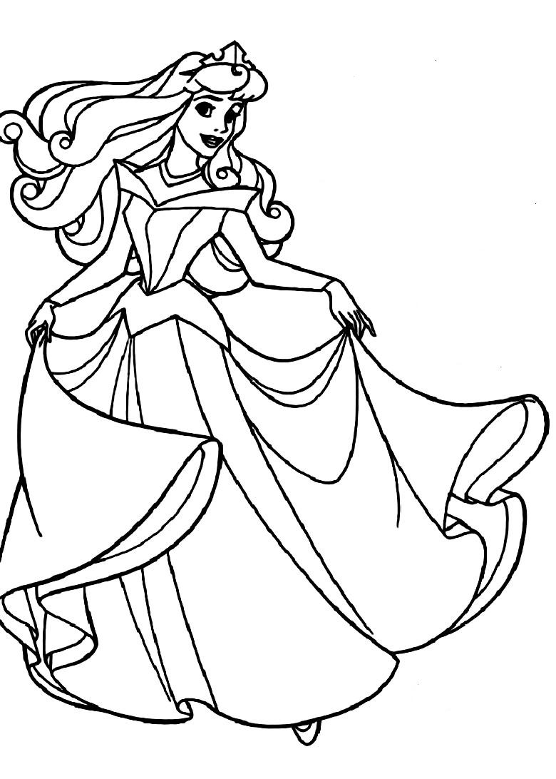 780x1092 Fancy Design Ideas Sleeping Beauty Coloring Pages Aurora Of Disney