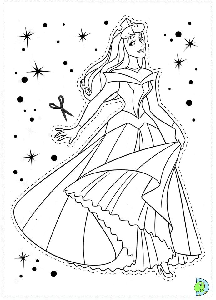 691x960 Sleeping Beauty Coloring Pages Coloring Page Coloring Pages