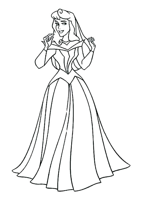 600x825 Baby Sleeping Beauty Coloring Pages Aurora Coloring Page Coloring
